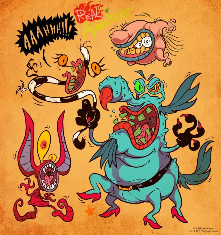 AAAHH Real Monsters2